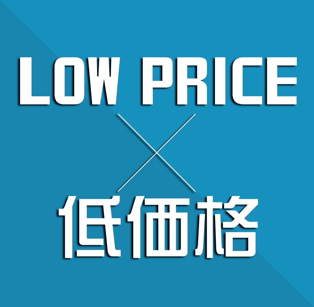 10万円以下×低価格